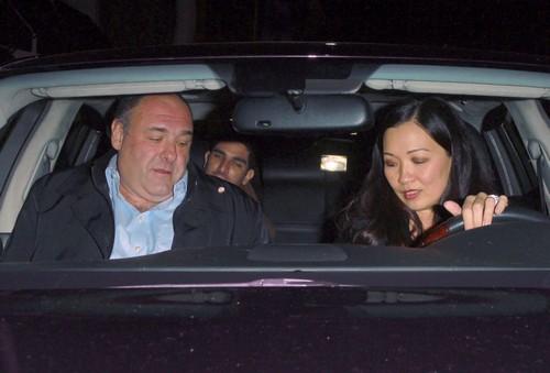 Celebrities Enjoy Dinner At Mr Chow Restaurant