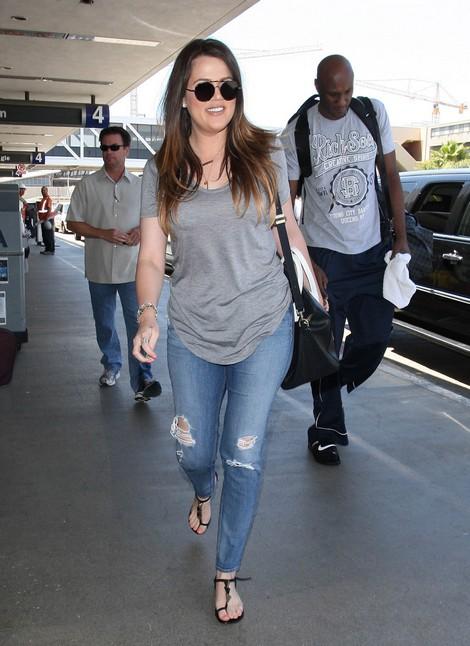 Lamar Odom Flies to Vegas After Fight With Khloe Kardashian