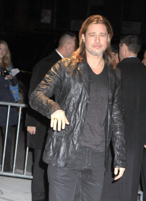 Brad Pitt is Ordered By Studio Execs To Clean Up His Look FAST!