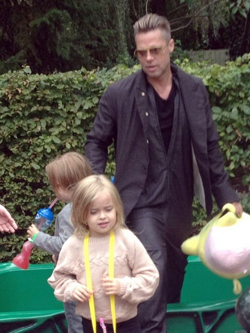 Brad Pitt Refuses To Use Soap, His Stink Driving Away Angelina Jolie?