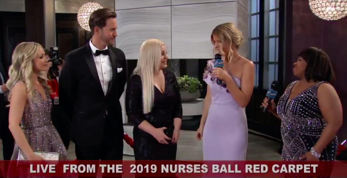 General Hospital Spoilers: The Nurses Ball Begins