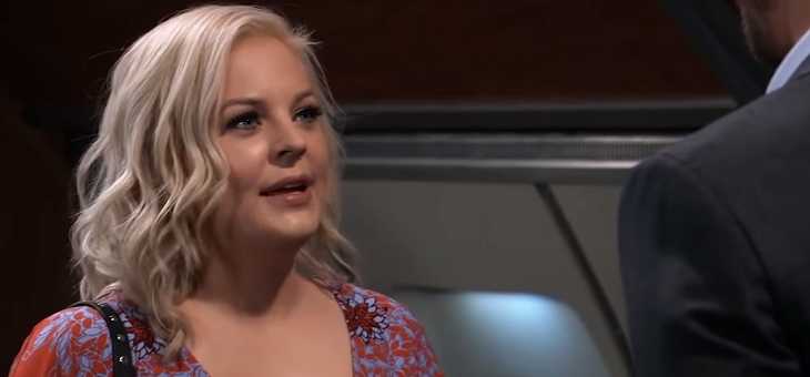 Maxie on gh looks different