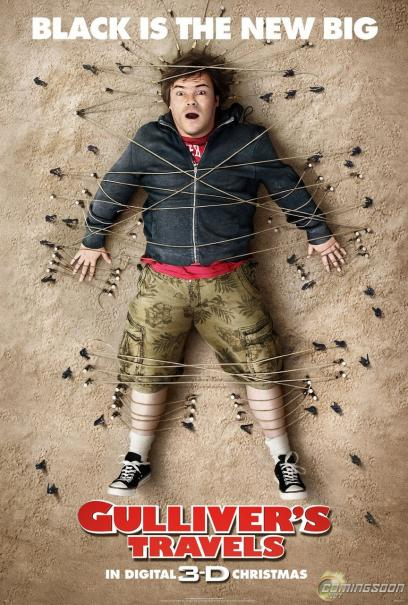 Jack Black 'Gulliver's Travels' New Trailer is a Riot