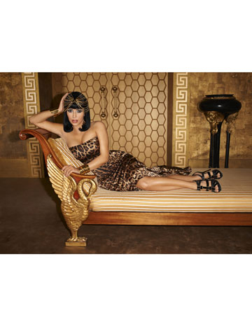Kim Kardashian as Cleopatra for Harper's Bazaar PHOTOS