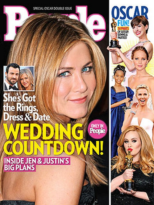 Jennifer Aniston and Justin Theroux: The Countdown To The Big Wedding!