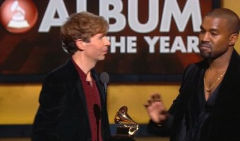 Kanye West Grammys Embarrassment: Storms Stage AGAIN and Disses Beck VIDEO #Grammys
