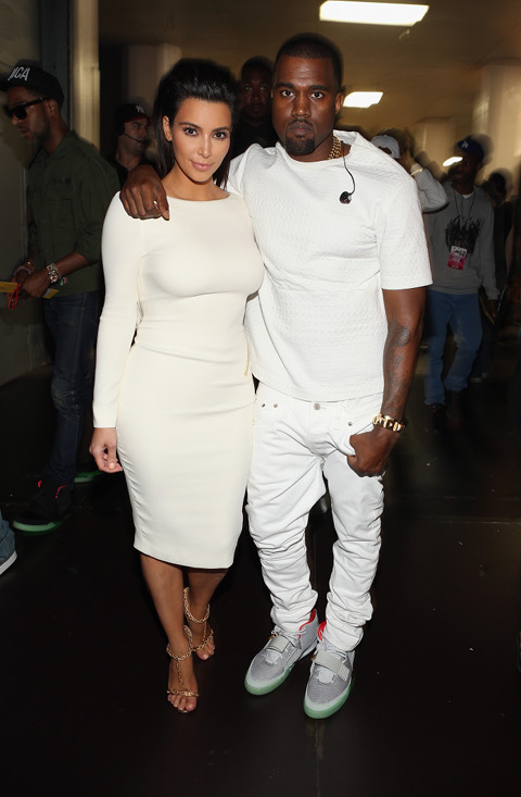 Kanye West's New Song Hints At Marriage To Kim Kardashian