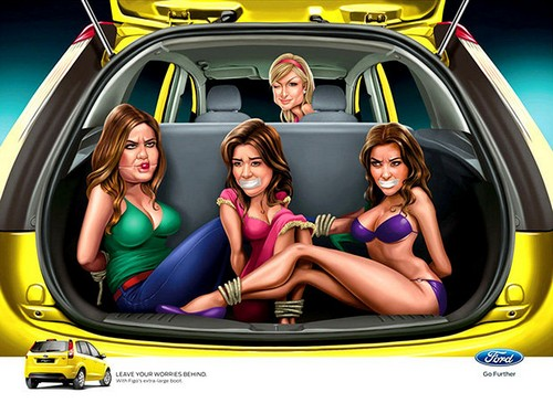 Kardashian Sisters Bound and Gagged Photo - Kardashians Furious (Photo)