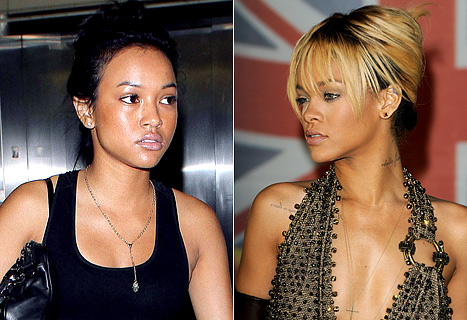 Karrueche Tran and Rihanna fight