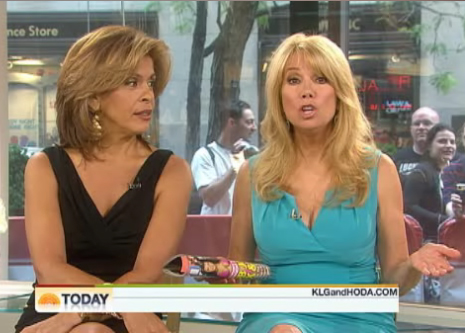 Kathie lee gifford and hoda kotb feuding over possible - Nbc today show kathie lee and hoda ...