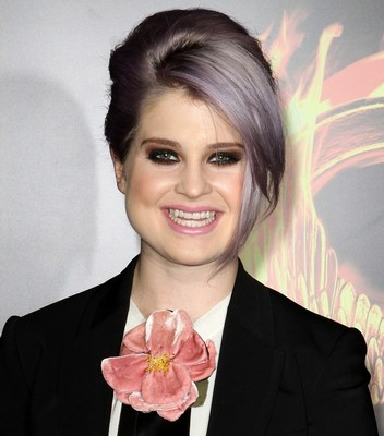 Kelly Osbourne Smiling