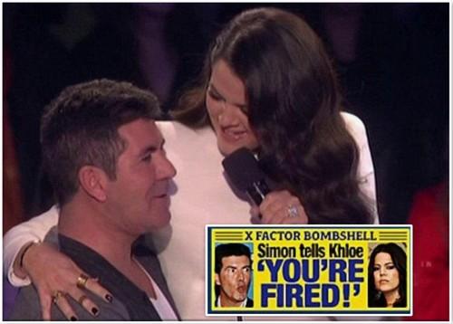 Report: Simon Cowell Fires Khloe Kardashian