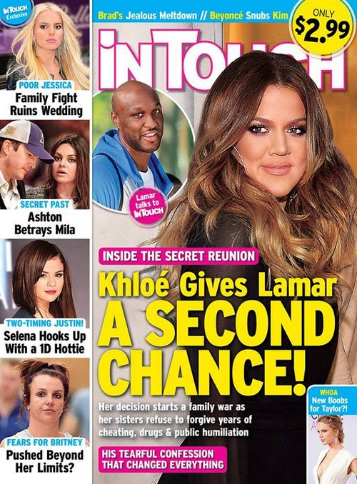 Khloe Kardashian Gives Lamar Odom a Second Chance – Secret Reunion (PHOTO)