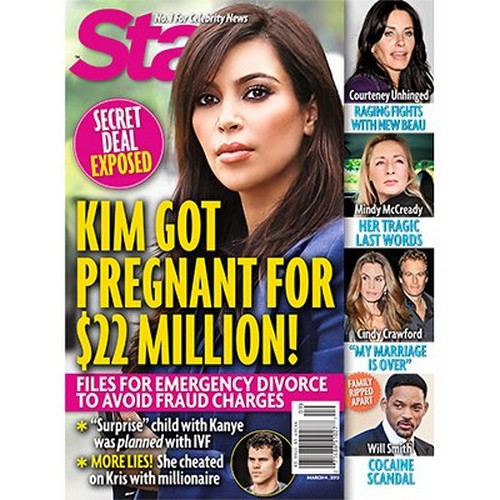 Kim Kardashian Used Kanye West As A Sperm Doner, It's All About The Money