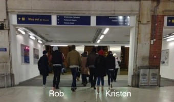 Kristen Stewart and Robert Pattinson In England for New Years!