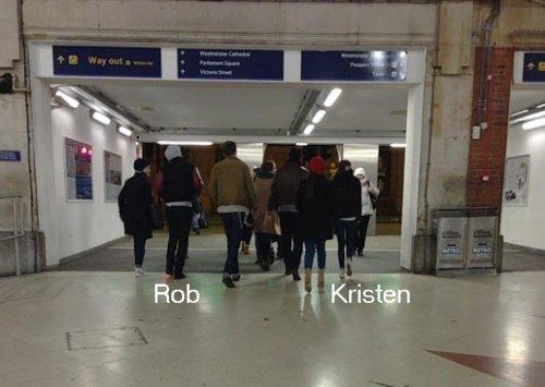 Kristen Stewart and Robert Pattinson In England for New Years!
