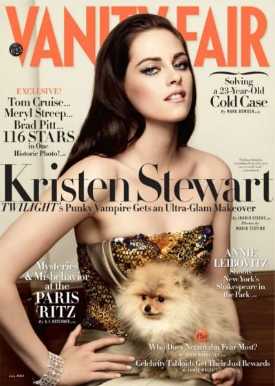 Kristen Stewart Tells Vanity Fair She's A Weirdo Who Likes To Smoke Pot