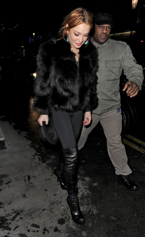 Lindsay Lohan Skips NYC Court Date - Parties Til 5 AM Instead