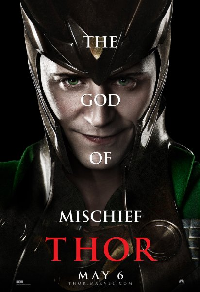 Thor Movie Poster – Loki
