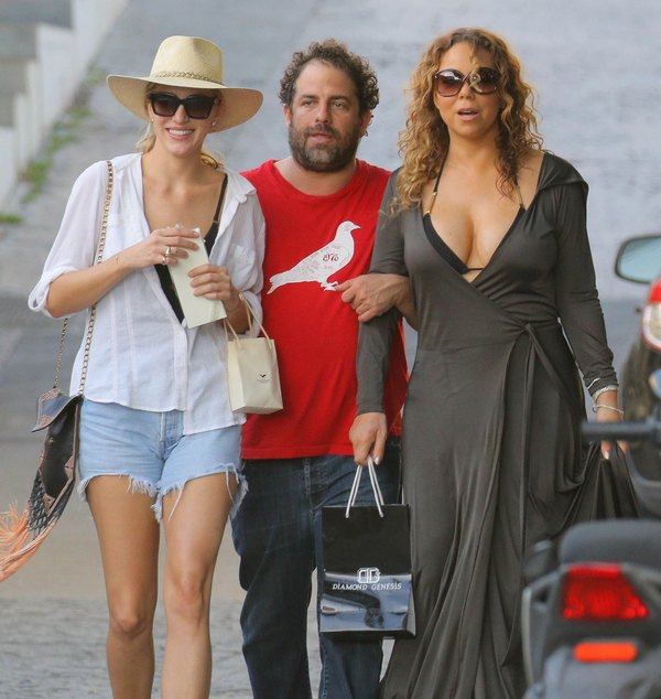 Semi-Exclusive… Mariah Carey & Brett Ratner Spend The Day Shopping In St. Barts