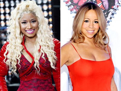 Mariah Carey and Nicki Minaj feud
