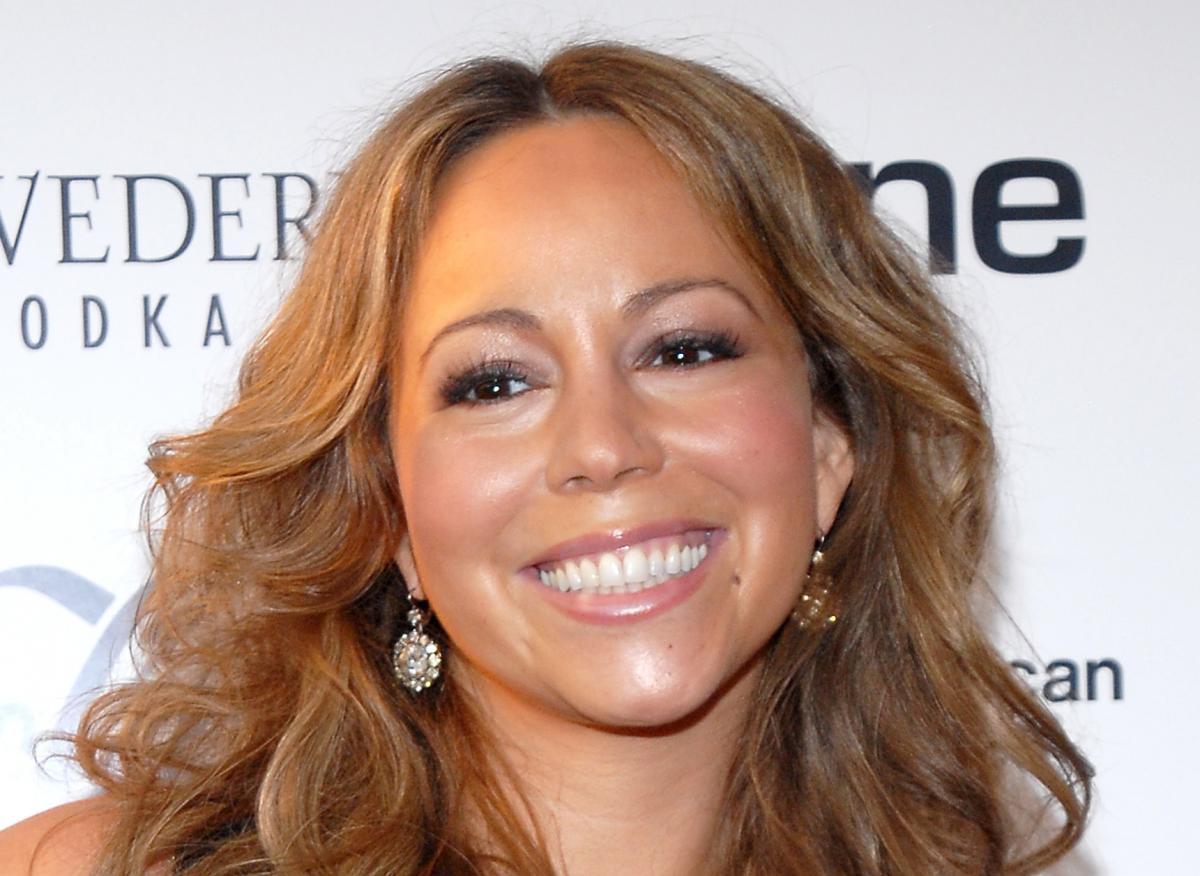 Mariah Carey red carpet