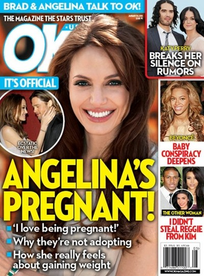 CONFIRMED: Angelina Jolie is PREGNANT!!!!