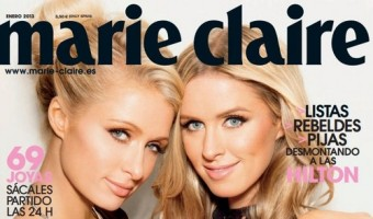 Paris Hilton and Nicky Hilton Grace the Cover of Spanish Marie Claire