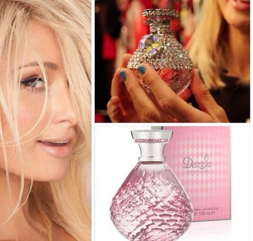 Paris Hilton Designs Perfume Bottle For Charity