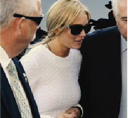 Lindsay Lohan Court Photos Feb 9 2011