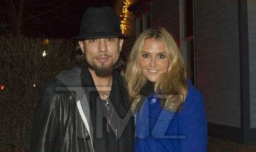 Dave Navarro and Brooke Mueller
