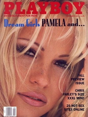 Pamela Anderson Playboy Covers Collection