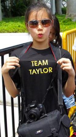 Taylor Swift Singapore Concert Photos