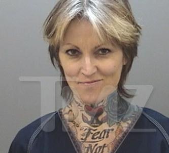 Janine Lindemulder  –  Jesse James Ex Wife Mug Shot