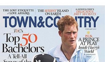 Prince Harry Named Most Eligible Bachelor (Photo)