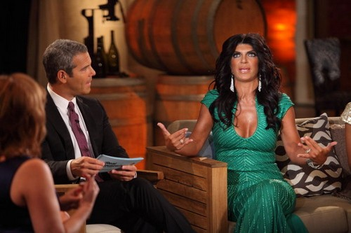 RHONJ Season Five Ends WIth A Bloody Brawl With Teresa Giudice Front & Center