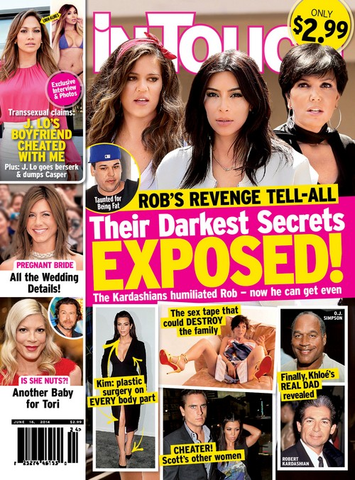 Rob Kardashian Plans Tell-All To Get Even With Fame Hungry Family