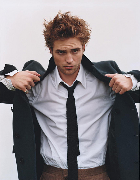 Robert Pattinson Panicked About End Of Twlight--Is Fifty Shades of Grey In His Future?