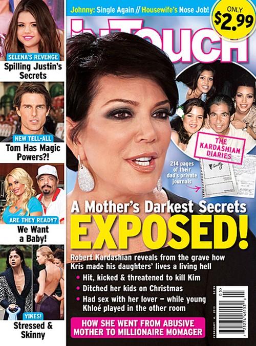 Robert Kardashian's Secret Diaries Expose The Truth Kris Jenner's Is A Monster