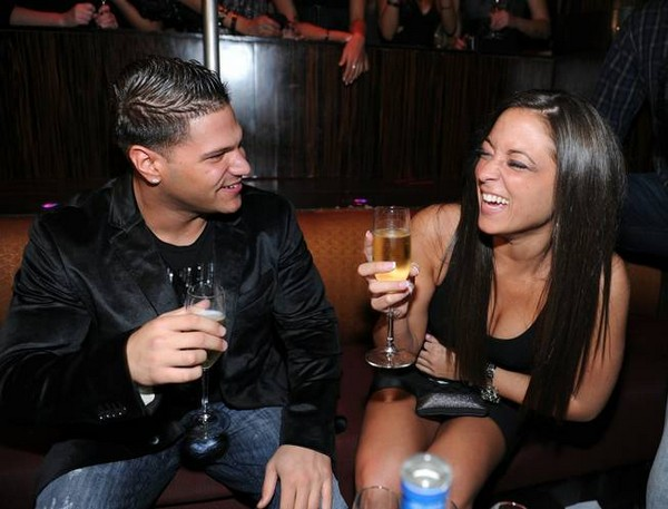 Ronnie Magro and Sammi Giancola Party