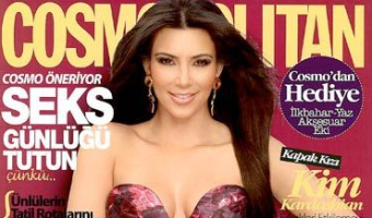 OUTRAGE: Kim Kardashian Covers TURKISH Cosmopolitan