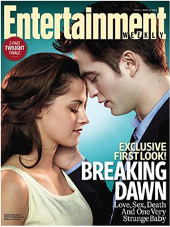 Breaking Dawn Stills – EW Cover – Kristen Stewart and Robert Pattinson