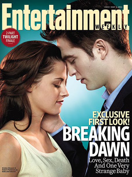 Breaking Dawn Stills – EW Cover – Kristen Stewart and Robert Pattinson