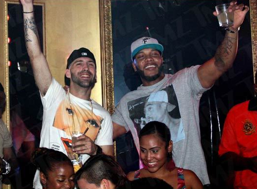 Flo Rida Partying Before DUI Arrest