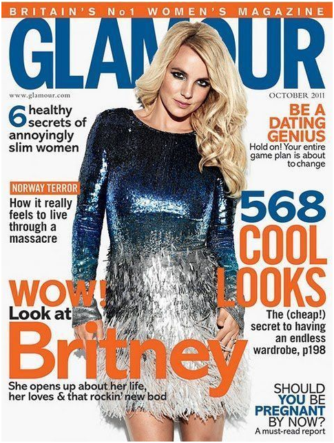 Britney Spears – Glamour UK – Sept. 2011