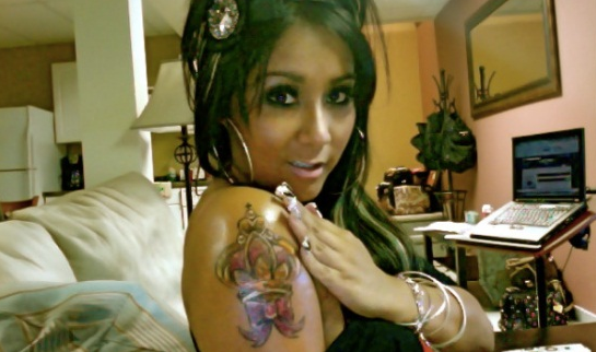 Snooki Gets New Arm Tattoo – Photo 1