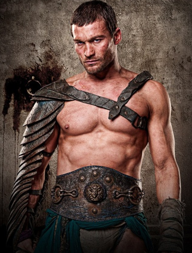 Andy Whitfield – Spartacus: Blood and Sand