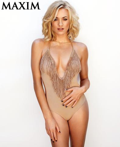 Yvonne Strahovski – Maxim October 2011 –  1