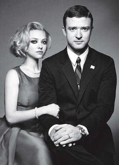 W Magazine – October 2011- Justin Timberlake and Amanda Seyfried – 3