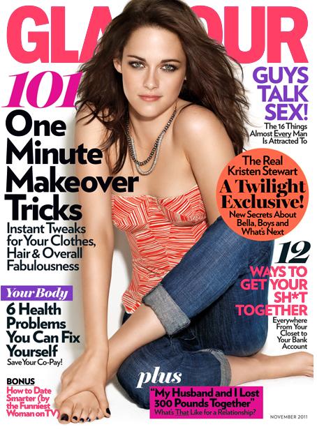 Kristen Stewart – Glamour Mag – Photos – Nov 2011